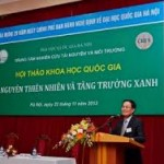 Hội thảo về bảo vệ môi trường